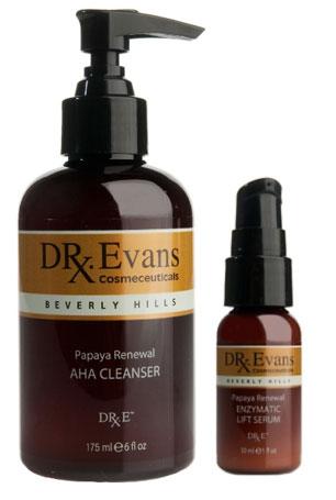 Dr-Evans-Papaya-Renewal-AHA-Cleanser-and-Enzymatic-Lift-Serum