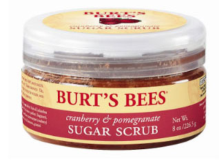Burt's-Bees-Cranberry-&-Pomegranate-Sugar-Scrub