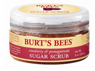 Burt's-Bees-Cranberry-&-Pomegranate-Sugar-Scrub