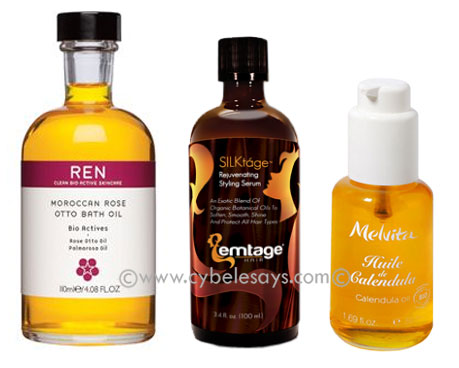 REN-Emtage-Melvita-hair-and-body-oils
