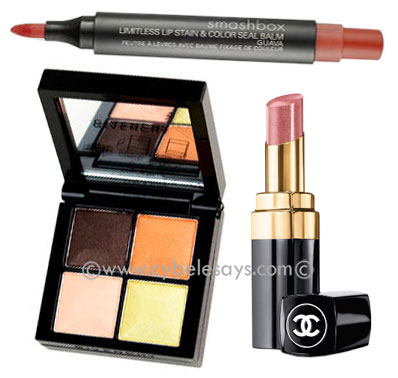 Givenchy-Candide-Garden-Eye-Shadow-Quad-Smashbox-Chanel-Rouge-Coco-Shine