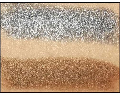 Mally-Beauty-Evercolor-Shadow-Stick-in-Gunmetal-and-Brown-swatches