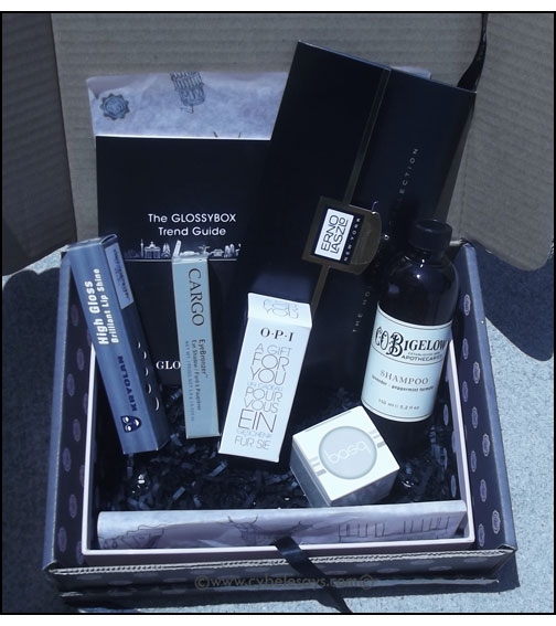 Glossybox-inside-products
