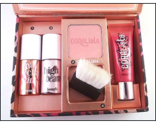 Benefit-go-TropiCORAL-kit-contents-in-the-box-2