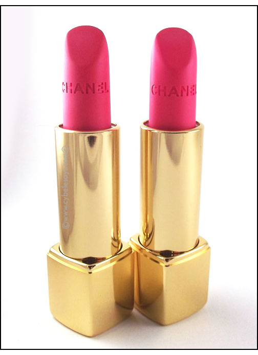 Chanel-Rouge-Allure-Velvet-L'Eclatante-and-La-Favorite