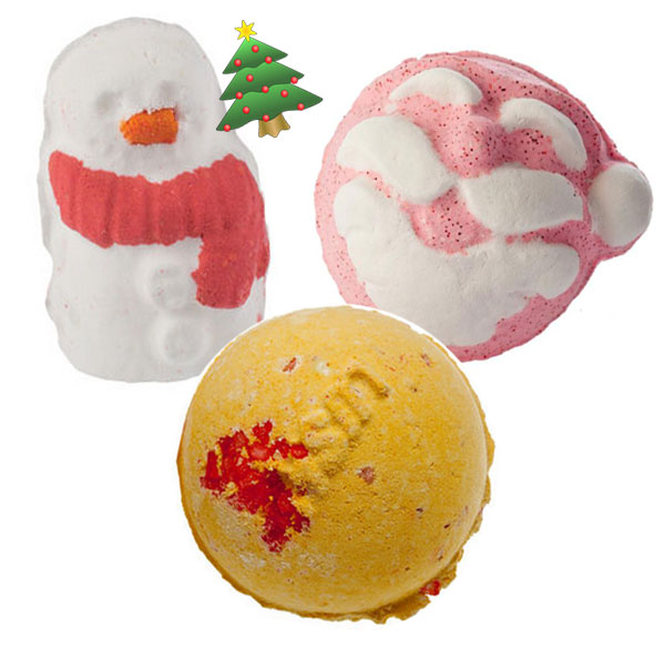 Lush-Bath-Bombs-in-Father-Christmas-Cinders-Snowman