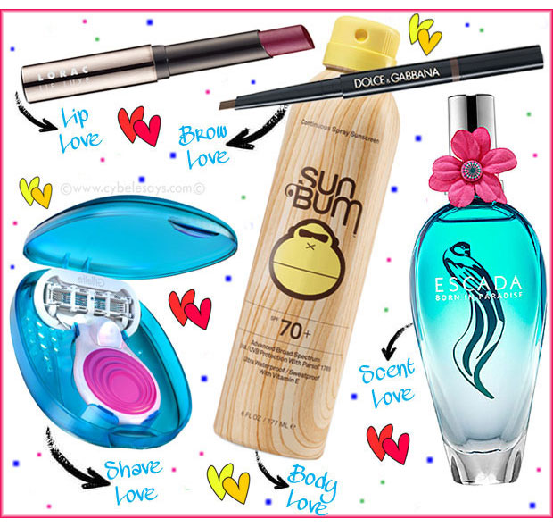 What-I'm-Using-Right-...-Now-Lorac-Sum-Bum-Escada-Dolce-&-Gabbana-Venus-Snap-Razor