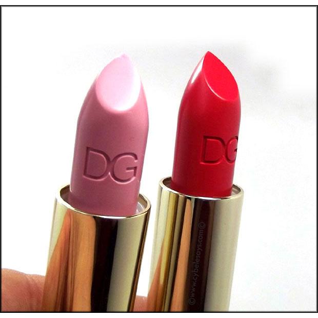 Dolce-&-Gabbana-Classic-Cream-Lipstick-in-Bonbon-and-Bellissima-up-close