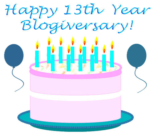 Happy-13th-Year-Blogiversary-Cybelesays.com