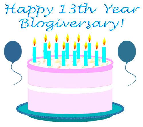 Happy-13th-Year-Blogiversary-Cybelesays.com