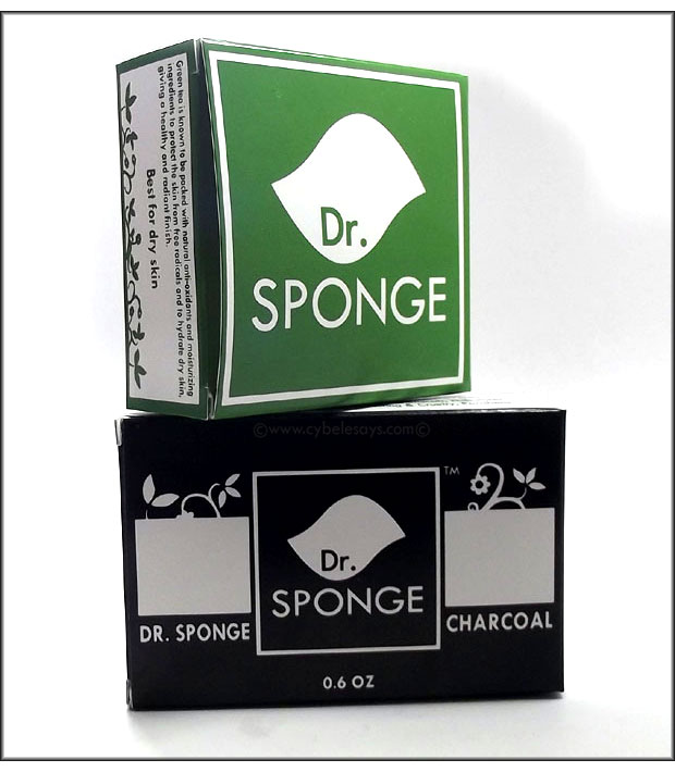 Dr-Sponge-for-Face-Green-Tea-and-Charcoal-for-body-boxes