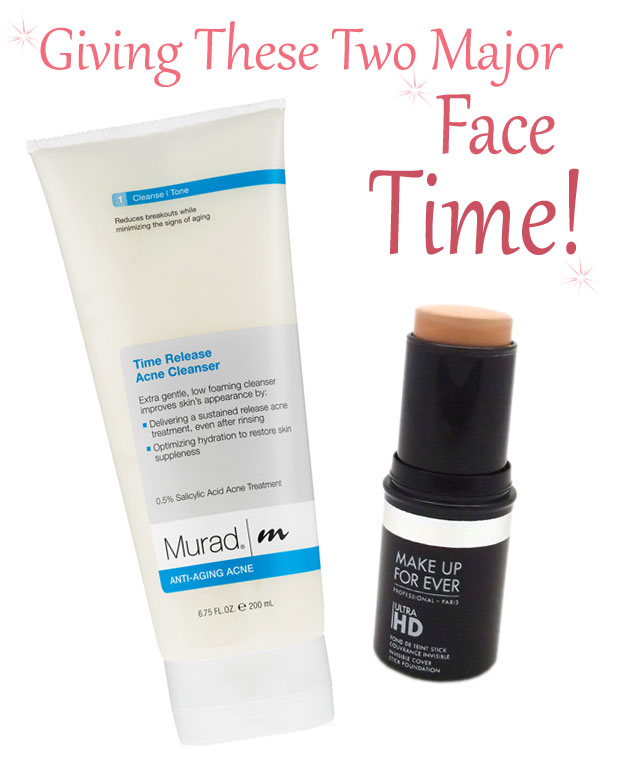 Murad-Time-Release-Acne-Cleanser-Make-Up-For-Ever-Ultra-HD-Stick-Foundation