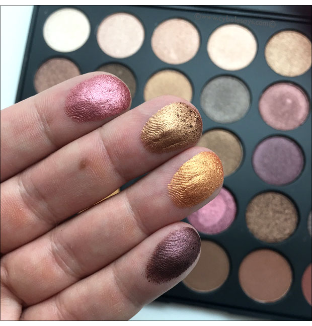 Morphe-Fall-Into-Frost-Eye-Shadow-Palette-up-close-swatches