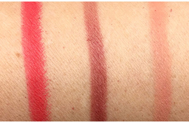 NARS-Velvet-Matte-Lip-Pencils-swatches-Famous-Red-Do-Me-Baby-and-Get-Off