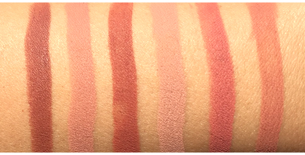 Buxom-True-Nude-Lip-Foundations-swatches