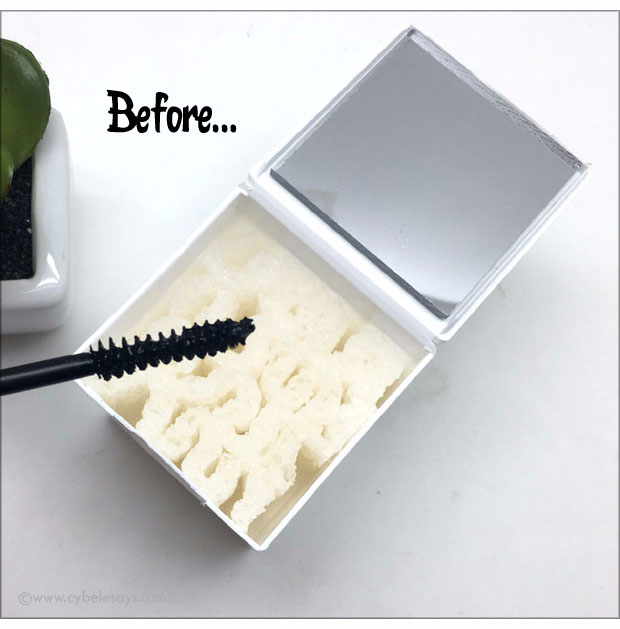 TWIST N CLEAN was invented to clean off the mascara wand instead of using a paper towel, tissue or anything else. Check out a full review.
