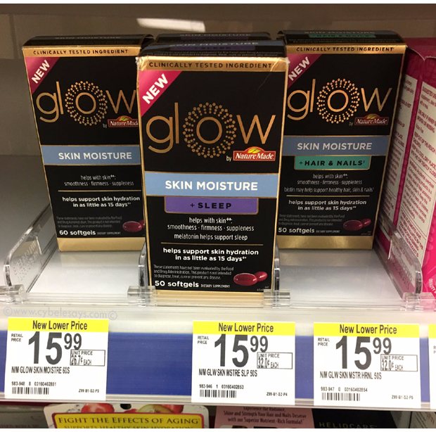 Glow by Nature Made®, a full review of supplements for hair and nails.