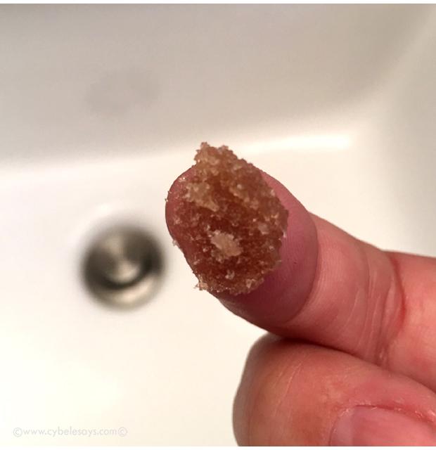The-Lip-Scrub-by-Sara-Happ-on-finger