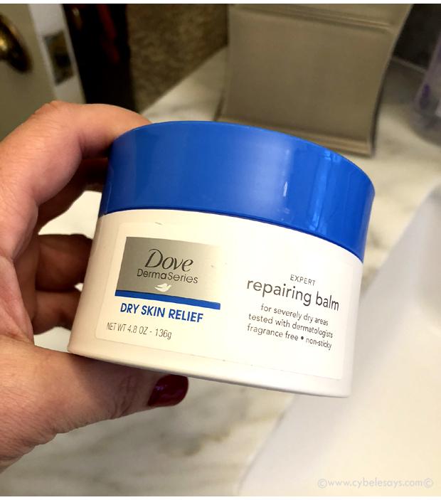 Dove-Derma-Repairing-Balm-in-hand