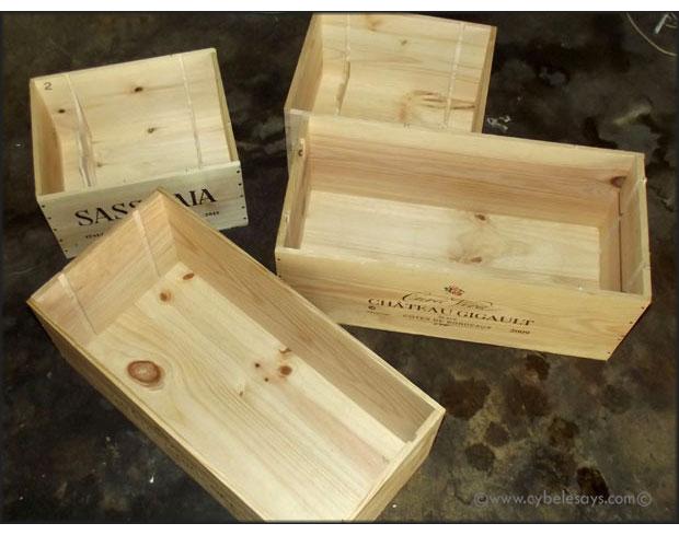 Unfinished-wine-crates