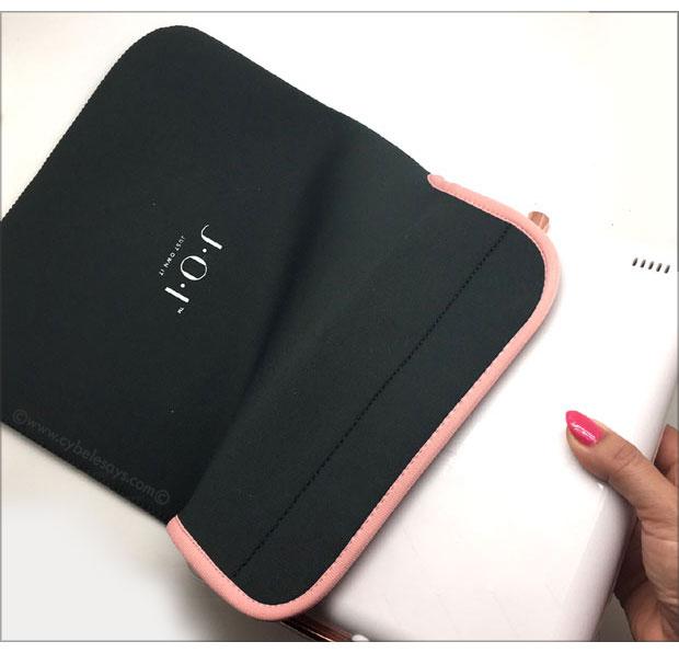 J.O.I.-Spotlite-HD-Professional-in-neoprene-bag