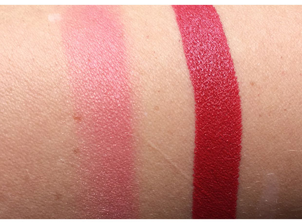 NARS-Blush-in-Impudique-and-Audacious-Lipstick-in-Rita-swatches