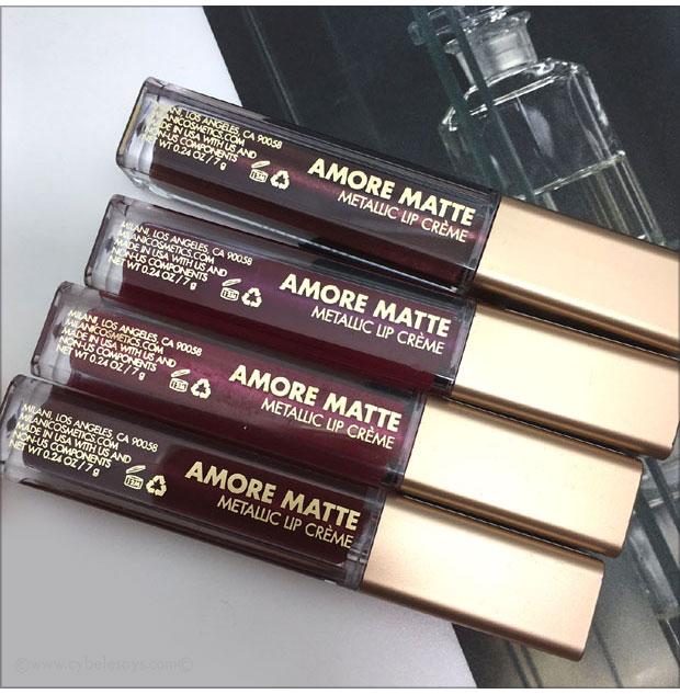 Milani-Amore-Matte-Metallic-Lip-Cremes