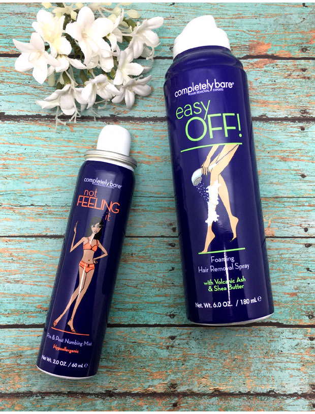 Check out this full review of the Completely Bare hair removal products.
