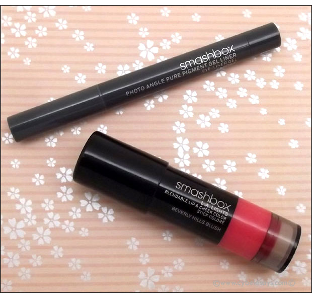 Smashbox-L.A.-Lights-Blendable-Lip-&-Cheek-Color-and-Photo-Angle-Pure-Pgment-Gel-Liner