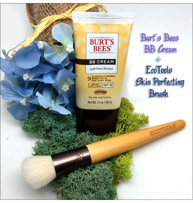 Burt's-Bees-BB-Cream-and-EcoTools-Skin-Perfecting-Brush
