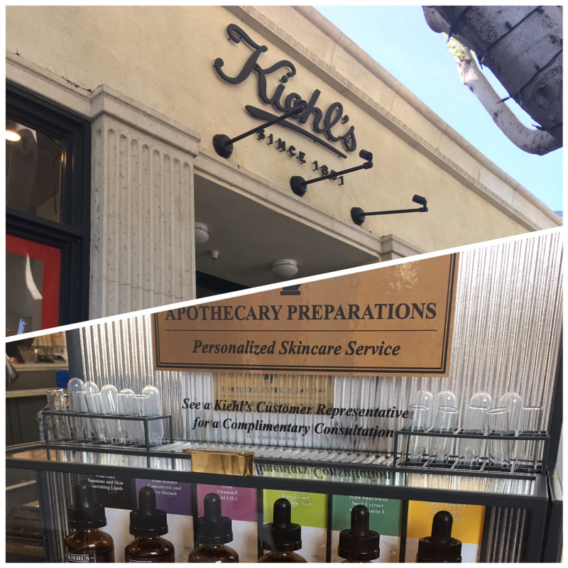 Kiehl's Storefront