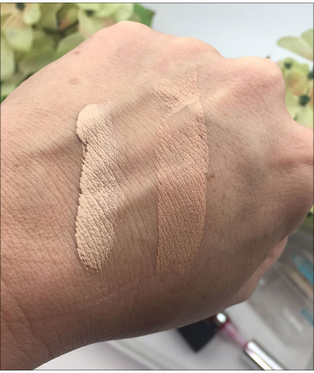 Neutrogena-Hydro-Boost-Hydrating-Tint-and-Hydrating-Concealer-swatches