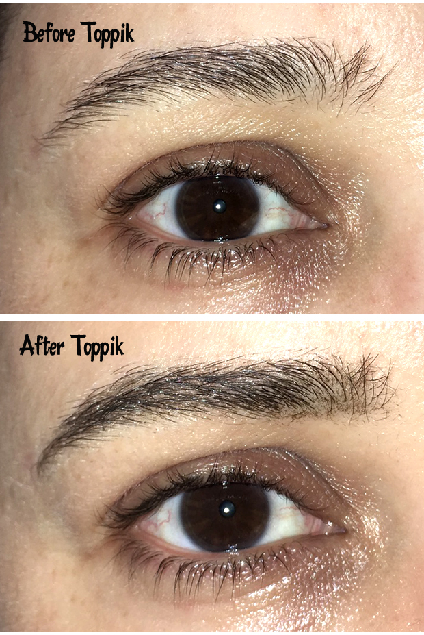 Toppik-Brow-Building-Fibers-before-and-after-photos