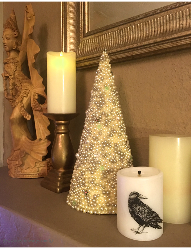 Lucid-Candle-on-the-mantle