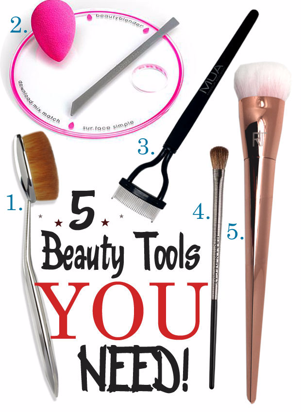 5 Beauty Tools You Need