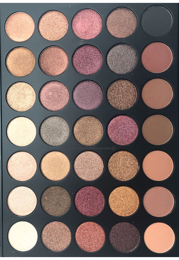 A quick look at the Morphe Fall Into Frost Palette (35F) with Cybele Says.