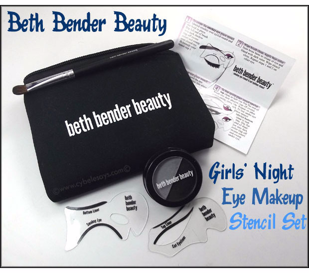 Learn how to get the perfect cat eye every time, with a Beth Bender beauty stencil.