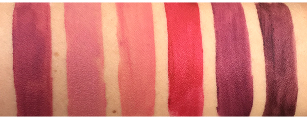 CoverGirl-Melting-Pout-Matte-swatches-1st-group