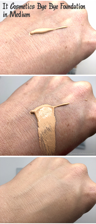 IT-Cosmetics-Bye-Bye-Foundation-Full-Coverage-Moisturizer-on-skin