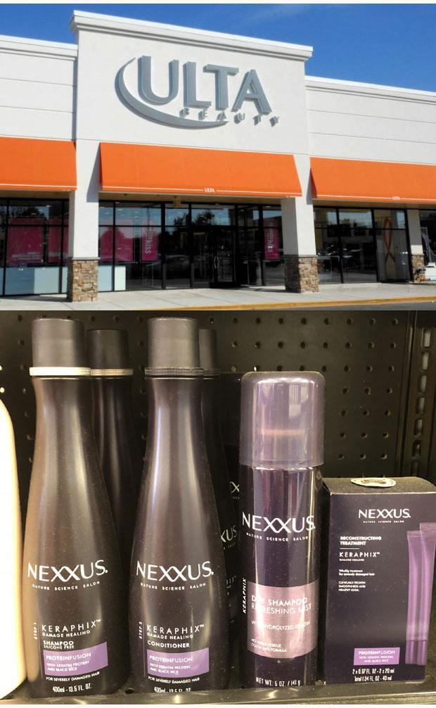 NEXXUS-at-ULTA-stores-on-shelf