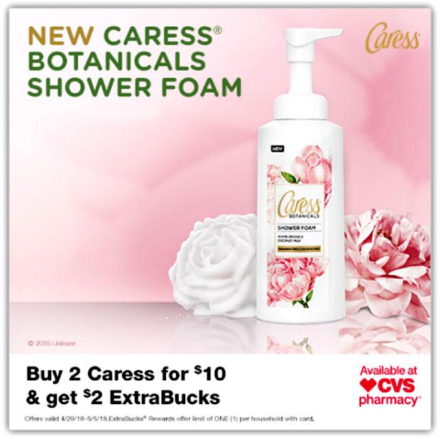 Caress-Botanical-Shower-Foam-at-CVS