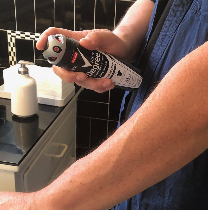 Degree Men Dry Spray
