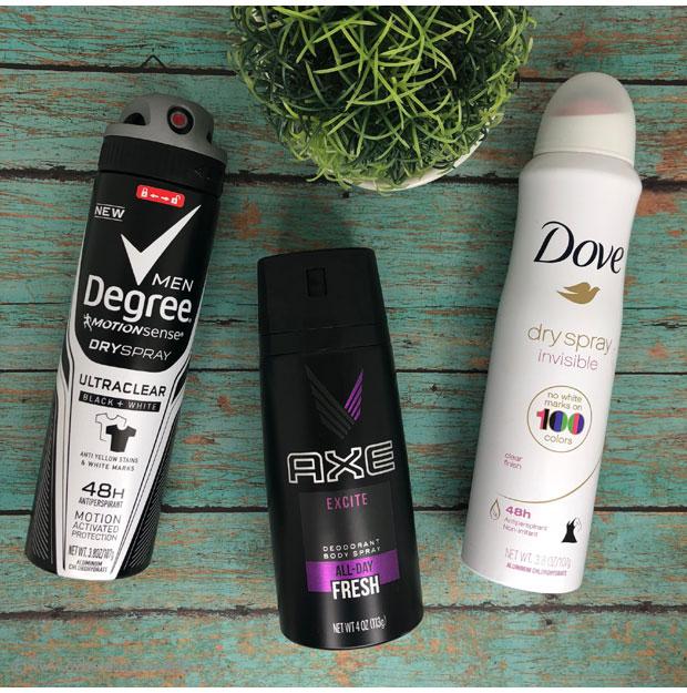 Dry Sprays at CVS