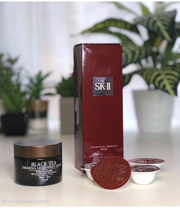 Fresh-Black-Tea-Firming-Overnight-Mask-and-SK-II-Overnight-Miracle-Mask
