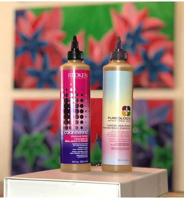 Redken-Color-Extend-Vinegar-Rinse-Pureology-Vinegar-Hair-Rinse