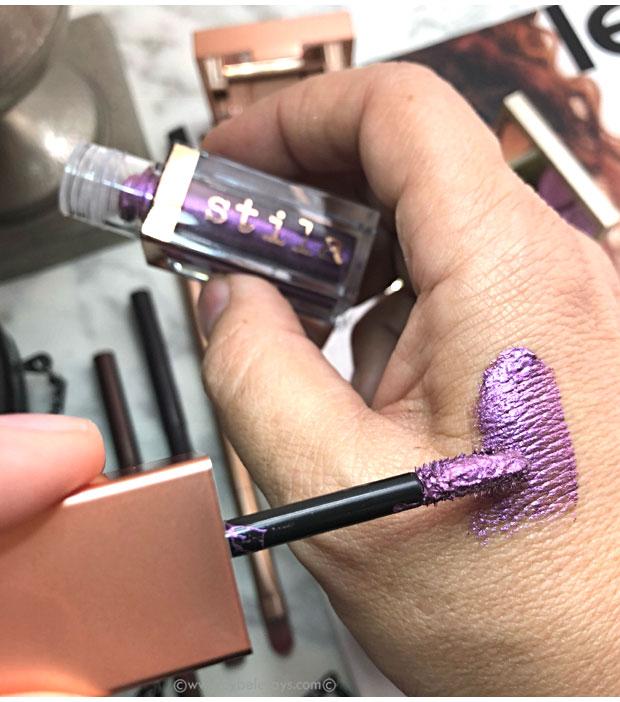 Stila-Cosmetics-Shimmer-&-Glow-in-Vivid-Amethyst-swatch