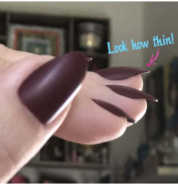 Look-how-thin-these-Kiss-Gel-Fantasy-Press-On-Nails-are